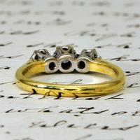 The Vintage 1975 Three Brilliant Cut Diamond Ring (5 of 5)