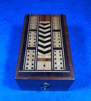 Victorian Inlaid Mahogany Crib  Box (16 of 20)