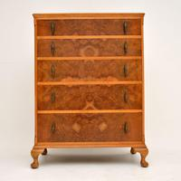 Antique Burr Walnut  Chest of Drawers (2 of 10)