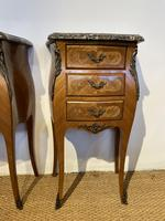 Pair of Bedside Cabinets 3 Drawers (2 of 7)