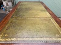 Antique Walnut Pedestal Writing Desk (13 of 13)