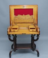 Early 20th Century Metamorphic Oak Desk (7 of 8)