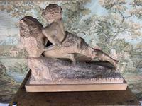 Large Terracotta Sculpture by Émile Grégoire (9 of 10)