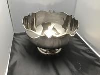 Large Solid Silver Bowl (2 of 5)