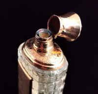 Antique 14ct Rose Gold Scent Bottle, 19th Century, Dutch, Cased (11 of 15)