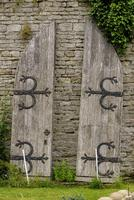 Pair of Mid 19th Century Oak Arched Doors (2 of 2)