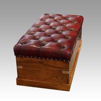 Victorian Camphor Wood Ottoman (2 of 9)