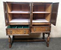 Golden Oak Cocktail Cabinet / Sideboard (5 of 8)