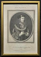 Rare Set of 12 Original 18th Century Engraving's of Kings & Queens of England (7 of 18)