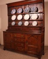 English Oak Dresser & Rack Early 18th Century (7 of 12)