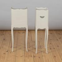 Pair of French Painted Bedside Cabinets Tables (4 of 5)