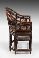 Regency Period Pavilion Cane Armchair (5 of 6)