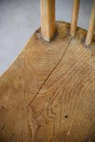 4 Beech & Elm Kitchen Chairs (2 of 12)