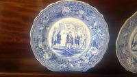 Pair of Antique Staffordshire Plates,History Series by Jones & Sons (4 of 6)