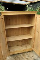 Fantastic Old Pine 2 Door Cupboard with Shelves - Linen/ Larder/ Storage / Food (8 of 10)