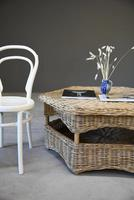 Large Natural Wicker Coffee Table (7 of 12)