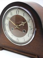 Good Hat Shaped Mantel Clock – Striking 8-day Arched Top Mantle Clock (5 of 10)