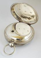 Antique silver Lancashire Watch Company Pocket Watch. (3 of 5)