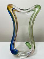 Collectible Czech Mid 20th Century by Frantisek Zemek Rhapsody Range Glass Vase (3 of 26)