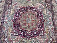 Antique Kerman Lavar Rug (4 of 11)