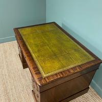 Large Victorian Mahogany Antique Partners Desk (9 of 10)