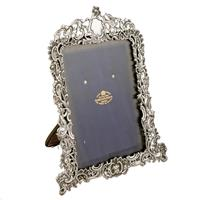 Victorian Sterling Silver Photo Frame