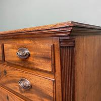 Country Georgian Mahogany Antique Chest of Drawers (7 of 7)