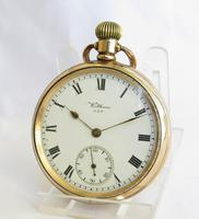 Antique Waltham Traveler pocket watch 1912