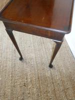 English 18thc Side Table (4 of 8)