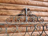 Antique Wrought Iron Garden Gate (4 of 5)