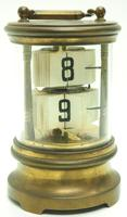 Interesting Ticket Carriage Clock Junghans Ticket Desk Mantel Clock (5 of 9)