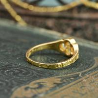 The Late Victorian Spencer of Charlotte 1892 Four Diamond Memory Ring (9 of 10)