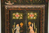 Antique Persian Painted Wood Mirror (11 of 11)