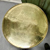 Brass Top Coffee Table or Occasional Table (3 of 5)