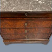 French Marble Top Commode with Writing Surface (7 of 9)