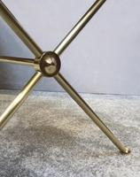 French Mid Century Brass Coffee Table (4 of 6)