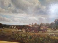 Country Scene with Hay Cart by Charles Thomas Burt (2 of 14)
