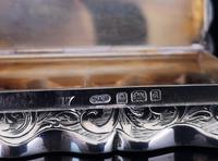 Antique silver snuff box, Deakin and Francis (3 of 12)