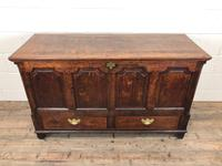 18th Century Welsh Oak Coffer with Panel Front (2 of 19)