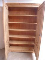 Victorian Antique Pine 2 Door Knockdown Storage Cupboard to wax / paint (10 of 11)