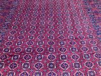 Antique Afghan Beshir Carpet (4 of 11)