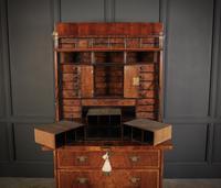 18th Century Walnut Escritoire Cabinet on Chest (6 of 14)