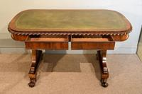 William IV Rosewood Writing Table (5 of 7)