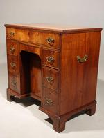 Most Attractive George III Period Kneehole Desk (2 of 6)
