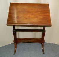 Regency Mahogany Architect's Table (4 of 7)