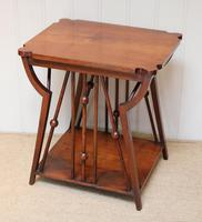 Small Arts & Crafts Walnut Table (4 of 8)