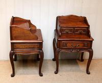 Pair of French Solid Oak Bedside Cabinets (7 of 8)