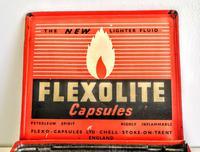 Vintage Advertising Tin for Flexolite  Lighter Fuel Capsules (5 of 10)