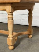 Nice Bleached Oak Farmhouse Dining Table (13 of 19)
