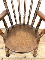 Antique 19th Century Penny Armchair (5 of 9)